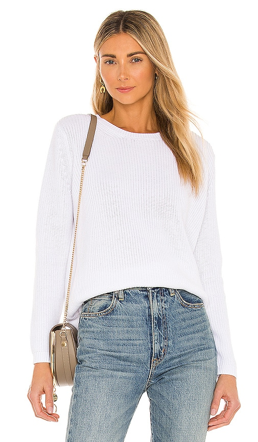 525 america Emma Sweater in White