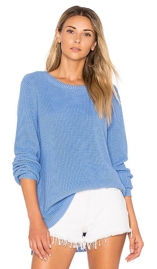 525 america Emma Crew Neck Sweater in Blue