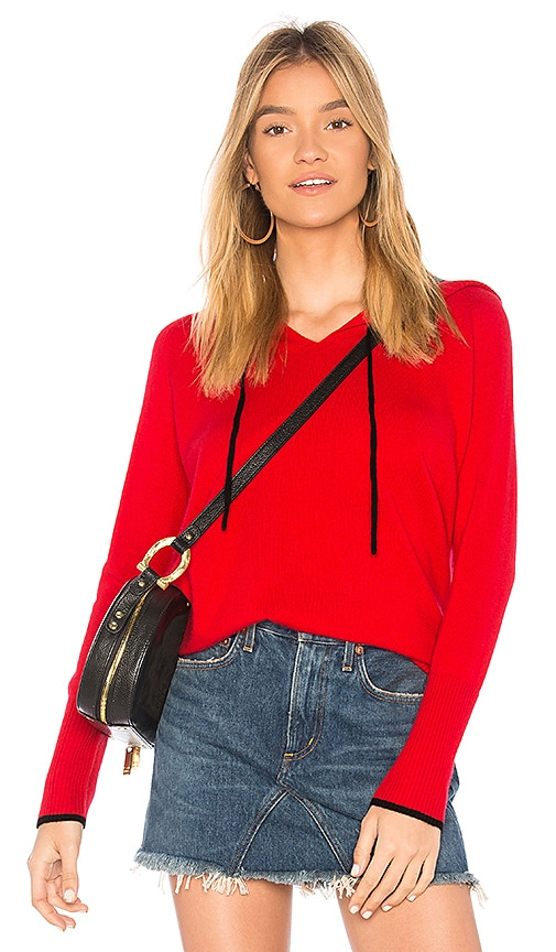 525 america Cashmere Hoodie in Red