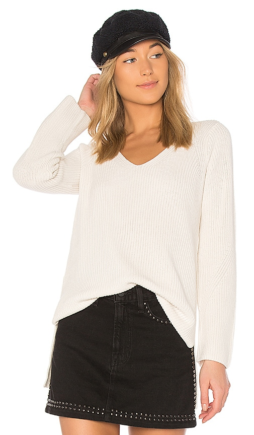 525 america Boxy Sweater in Ivory