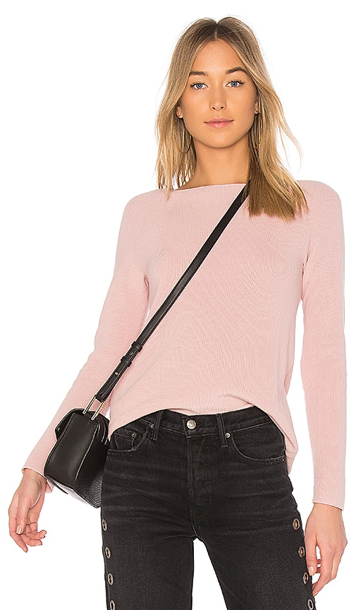 525 america Long Sleeve Sweater in Pink