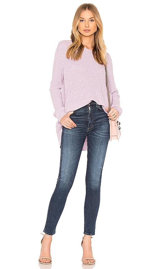 525 america Asymmetrical Pullover in Lavender