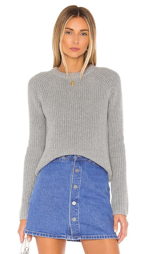 Jane Raglan Shaker Pullover