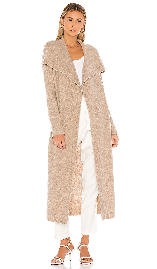 Cashmere Belted Wrap Cardigan