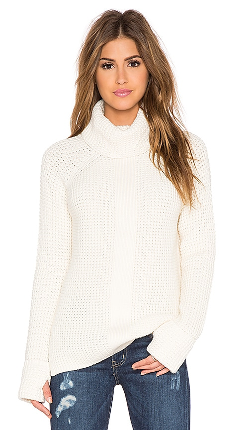 Turtleneck Sweater in Cream 525 america Sale Original Discount Clearance Discount Clearance Store Online kwvzBoEX