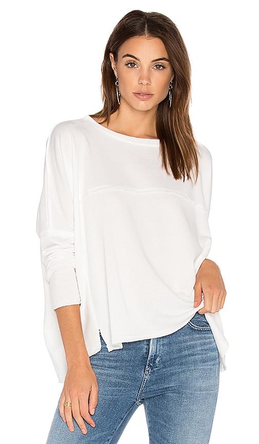525 america Boxy Sweatshirt in White