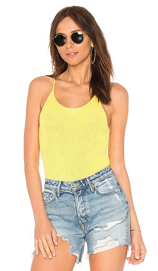 525 america Scoop Neck Cami in Yellow