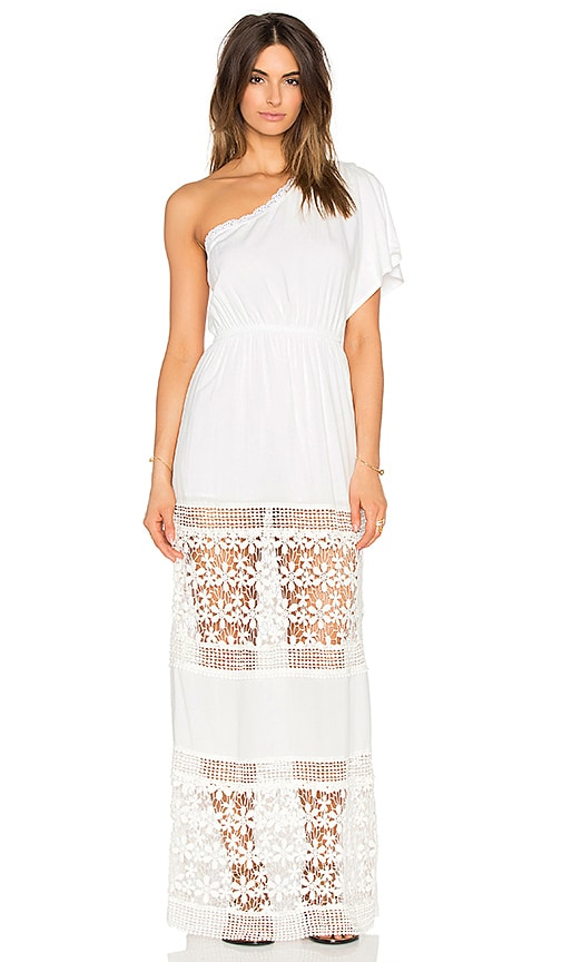 6 SHORE ROAD Havana's Maxi Dress in White