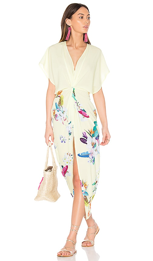 6 SHORE ROAD Pelican Cover Up Dress in Yellow