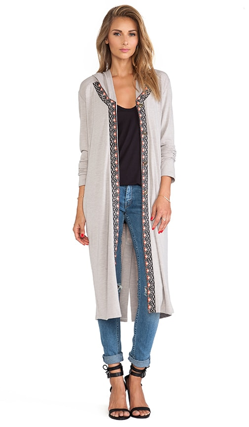 Tigress Hooded Cardigan