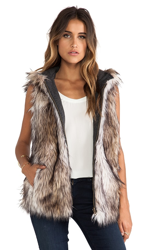 Hopi Reversible Faux Fur Vest