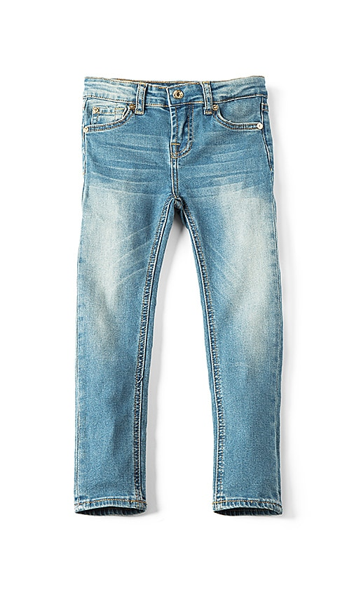 7 For All Mankind Kids The Skinny in Vivid Authentic Blue