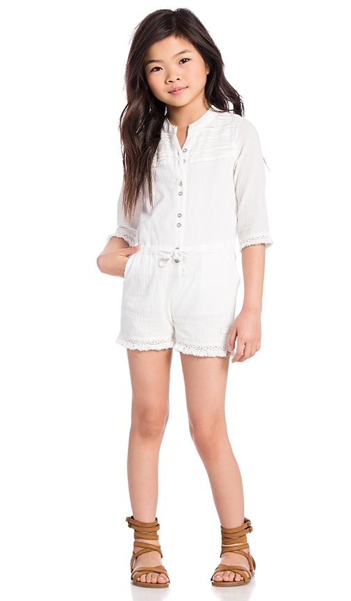 7 For All Mankind Girls Romper