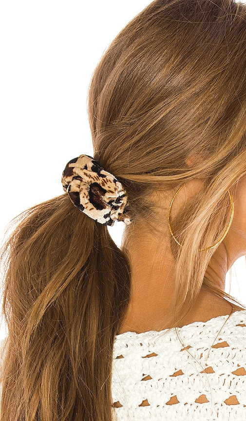 Cheetah Scrunchie Set