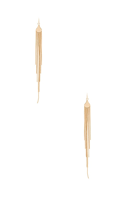 8 Other Reasons Eden Drop Earrings in Metallic Gold