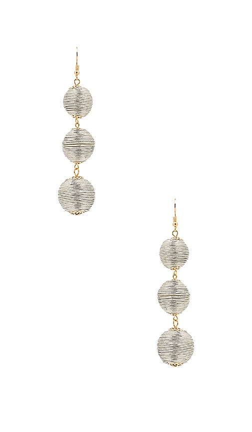 8 Other Reasons Amore Earring in Metallic Silver