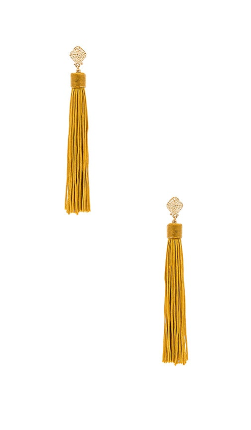 8 Other Reasons Cleo Earrings in Metallic Gold