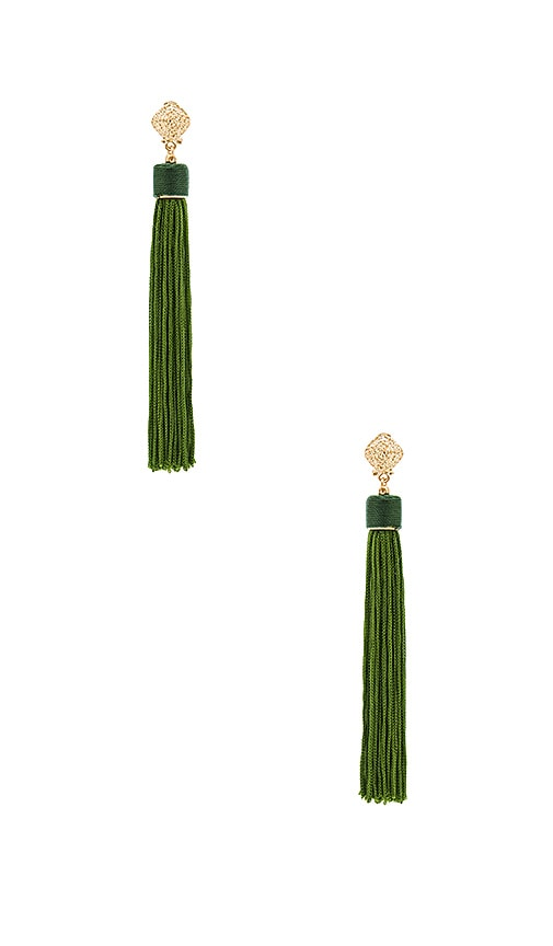 8 Other Reasons Cleo Earrings in Green