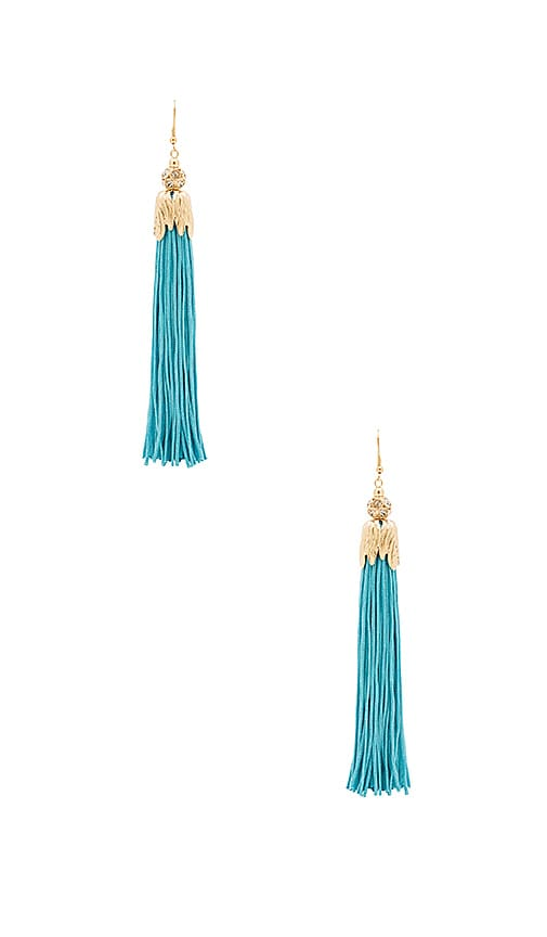8 Other Reasons Zoey Earrings in Metallic Gold