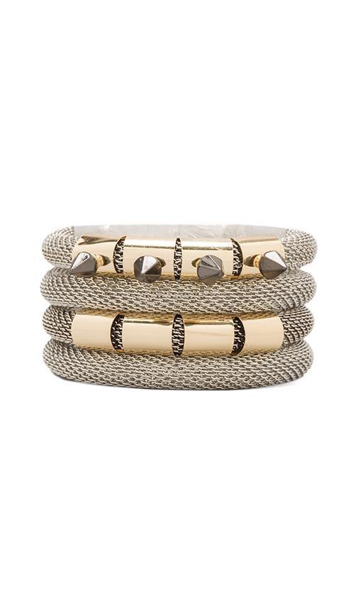 Halo Bracelet Set