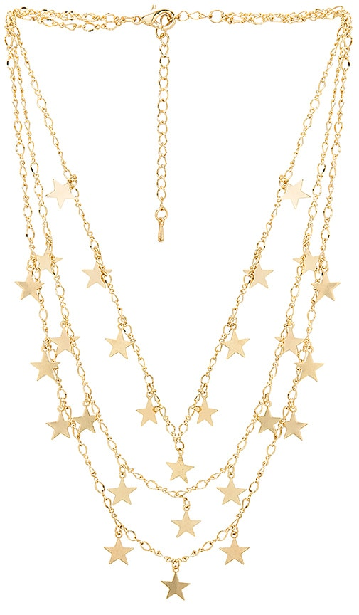 Mystic Necklace in Metallic Gold 8 Other Reasons pBRlwGH