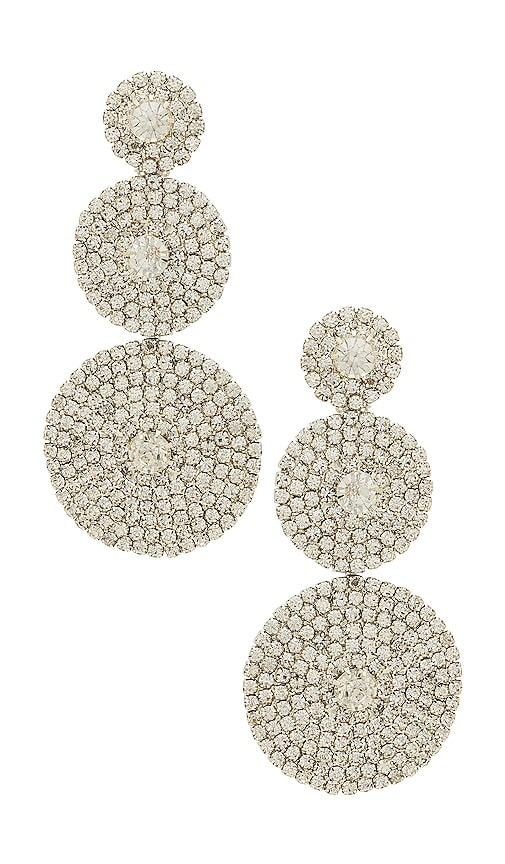 8 Other Reasons Shine On Earrings in Metallic Silver