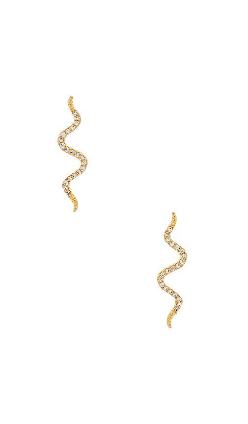 Snake Crawler Earrings