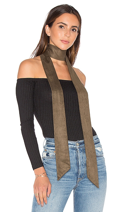 8 Other Reasons x REVOLVE Skinny Scarf in Olive