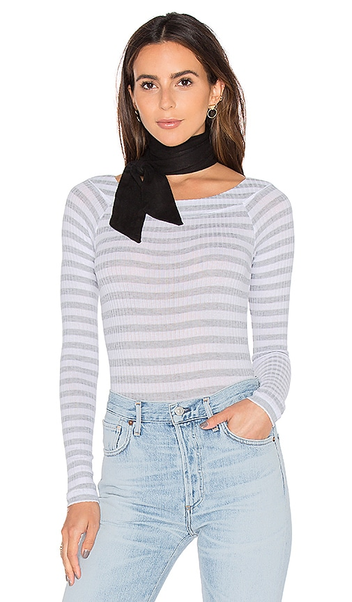 8 Other Reasons x REVOLVE Skinny Scarf in Black