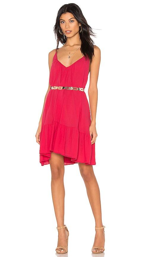 St Tropez Ruffle Mini Dress