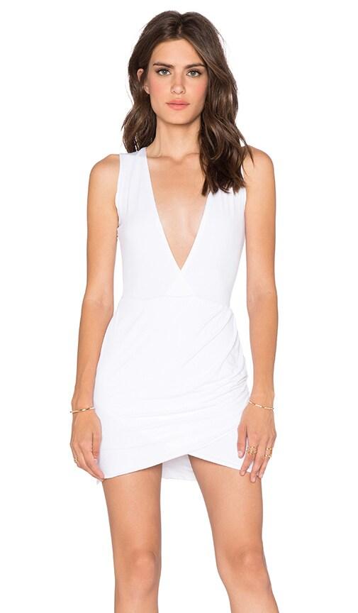Assali Hindrex Mini Sleeveless Dress in White