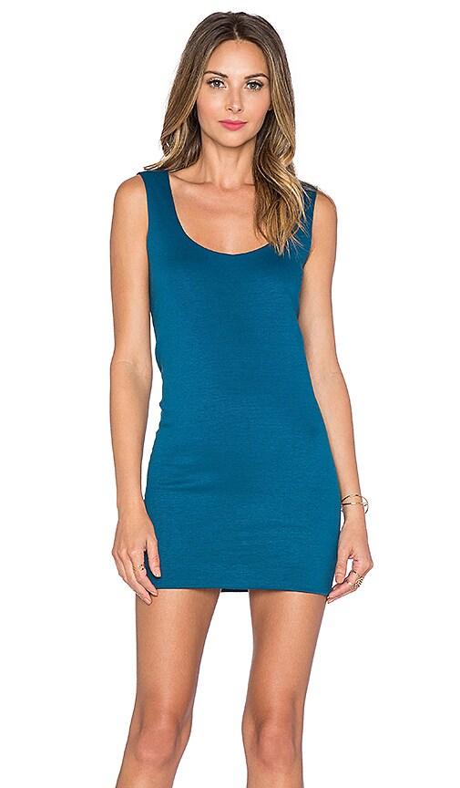 Assali Spellbinding Mini Dress in Ocean Blue