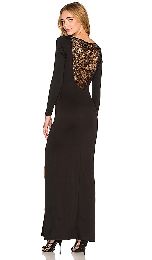 Assali x REVOLVE Greyson Maxi Dress in Black