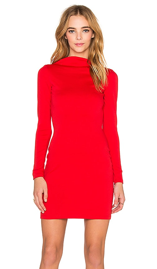 Assali x REVOLVE Victoria Mini Dress in Red