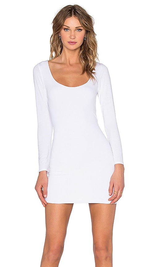 Assali Mimosa Mini Dress in Crisp White