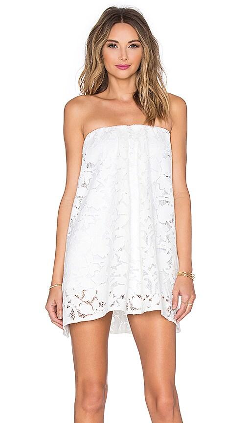 Assali Sage Mini Dress in Crisp White