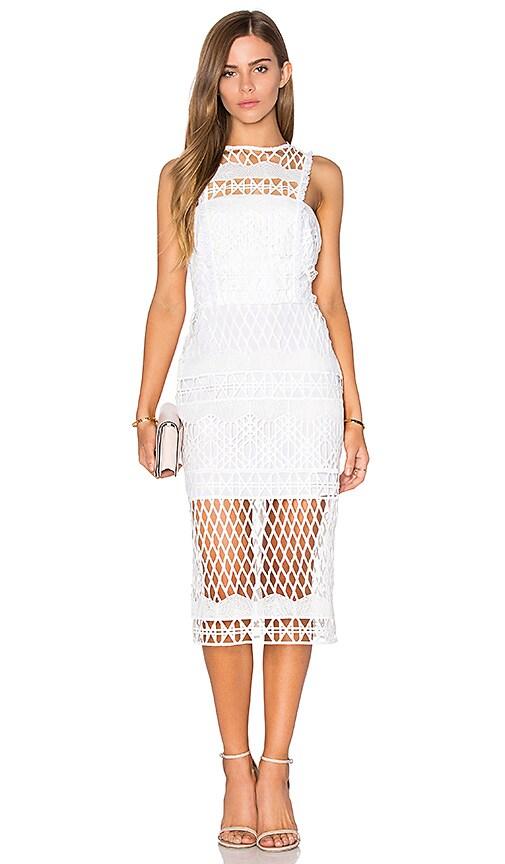 Assali Tamil Dress in Crisp White