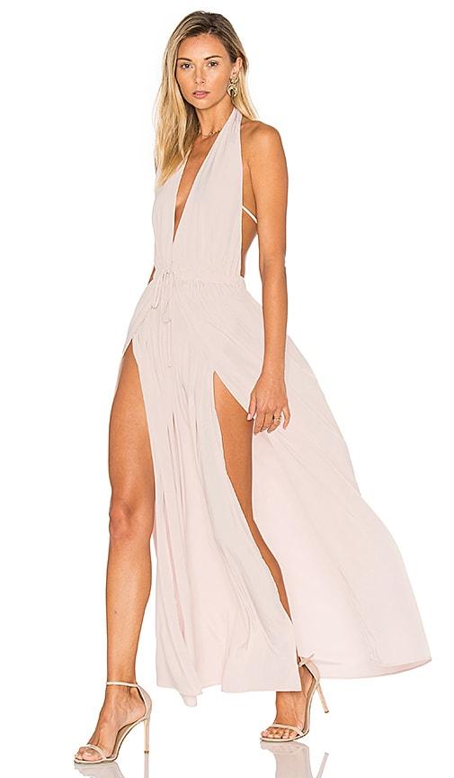 Assali Chi Dress in Blush