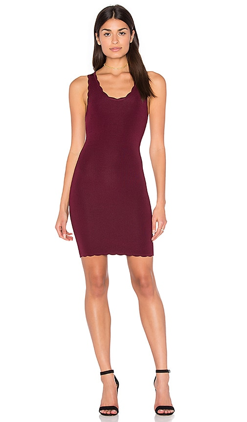 ARC Elisa Dress in Burgundy