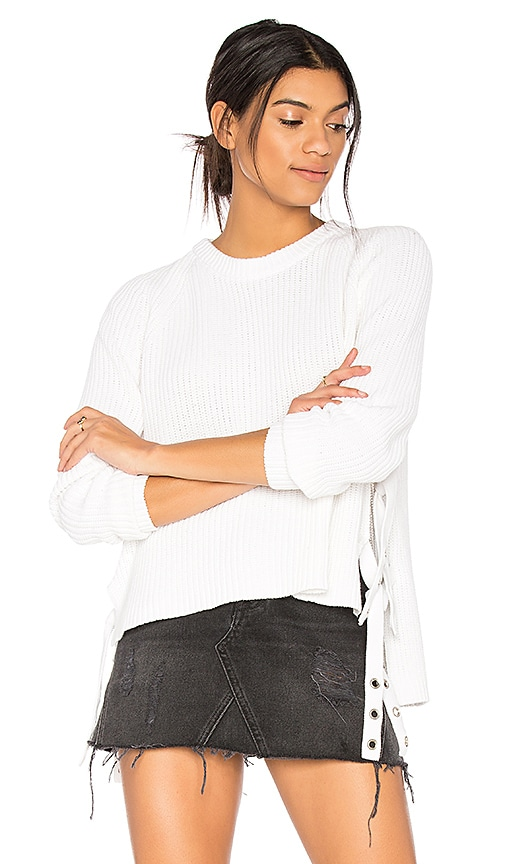 ARC Dina Sweater in White