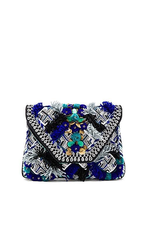 Antik Batik Kilan Wallet in Blue