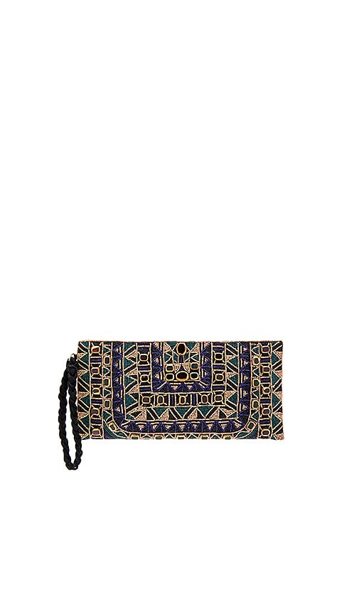 Antik Batik Sean Baguette Bag in Metallic Copper