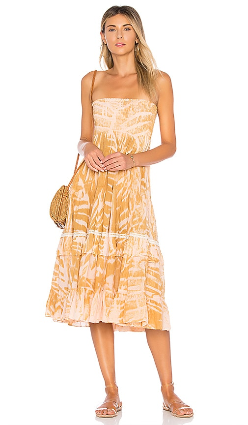 Amanda Bond Sophie Convertible Dress in Tan