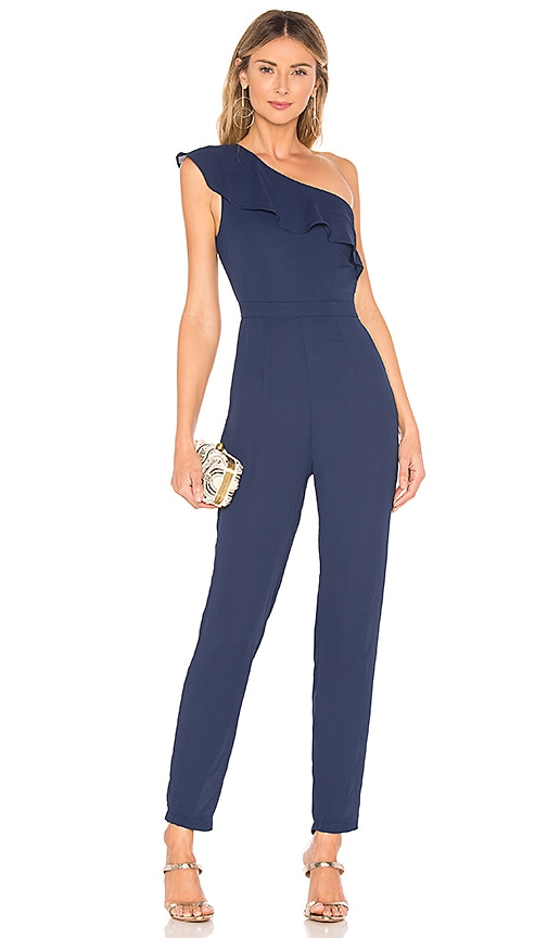 Krystal One Shoulder Jumpsuit