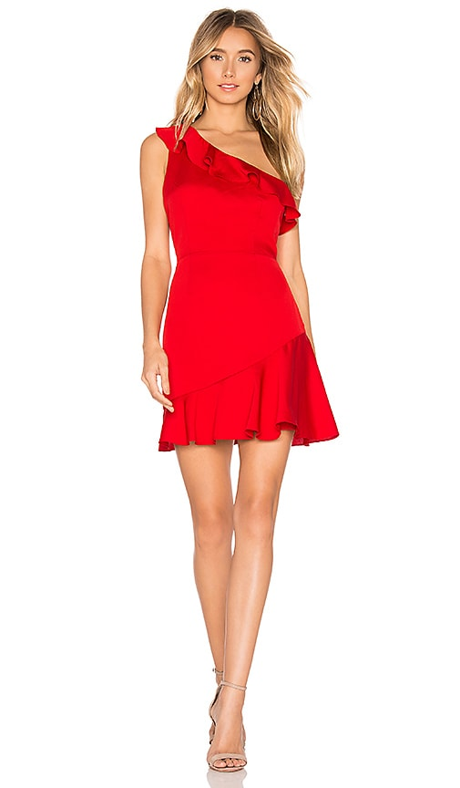 Kloe Ruffle Mini Dress
