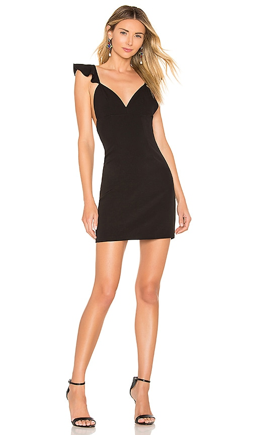 Gianni Flutter Sleeve Dress by About Us