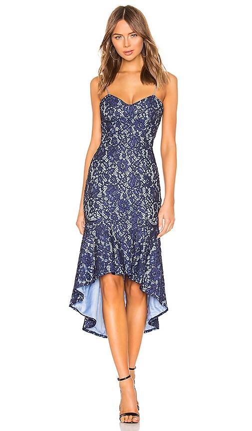 Angeline Lace Ruffle Dress