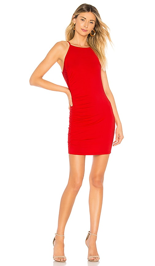 About Us Maria Dress in Red