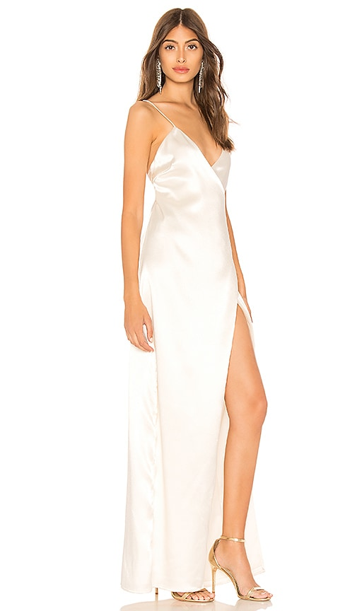 Coco High Slit Maxi Dress by About Us
