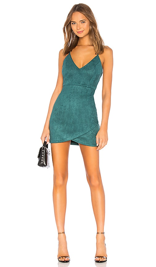 86f9db51d1 superdown Carrie Mini Dress in Green